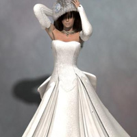 Littlefox's Snow Bride fit to GND2